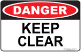 KEEP CLEAR-Signs-RackID Shop