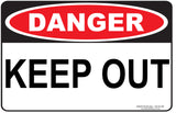 KEEP OUT OUTDOORS-Signs-RackID Shop
