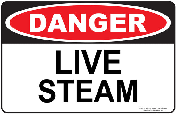 LIVE STEAM - Signs - RackID Shop
