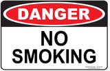 NO SMOKING OUTDOORS - Signs - RackID Shop