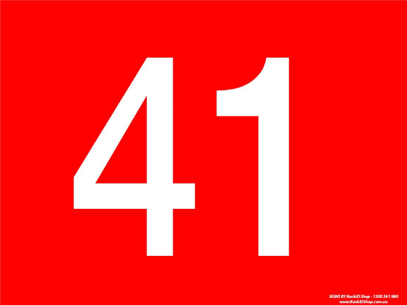 Red 41-50-Signs-RackID Shop