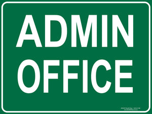 ADMIN OFFICE - Signs - RackID Shop