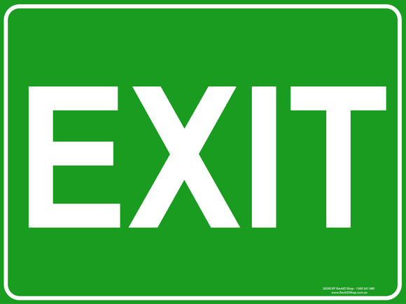 EXIT OUTDOORS-Signs-RackID Shop