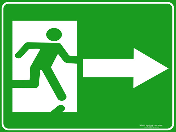 EXIT RIGHT OUTDOORS-Signs-RackID Shop