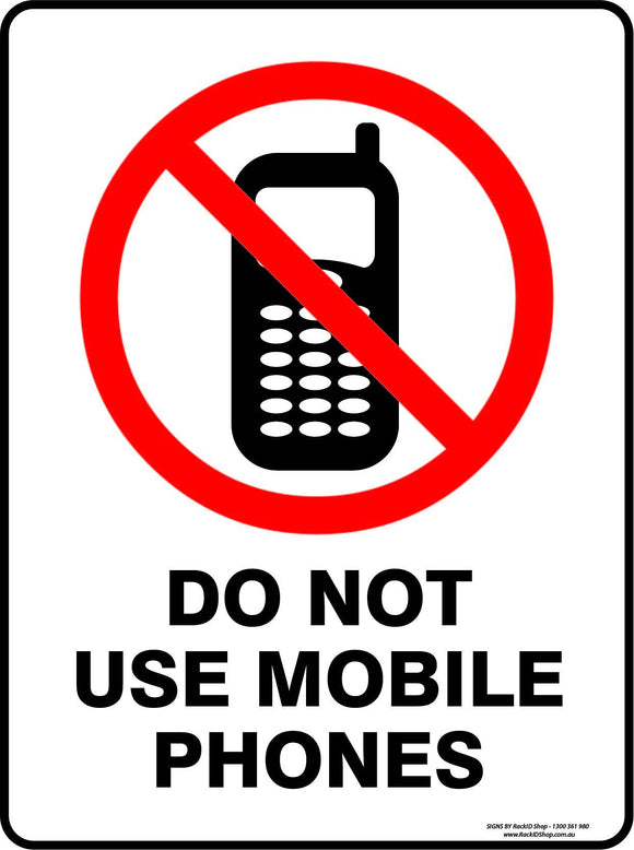 DO NOT USE YOUR MOBILE-Signs-RackID Shop