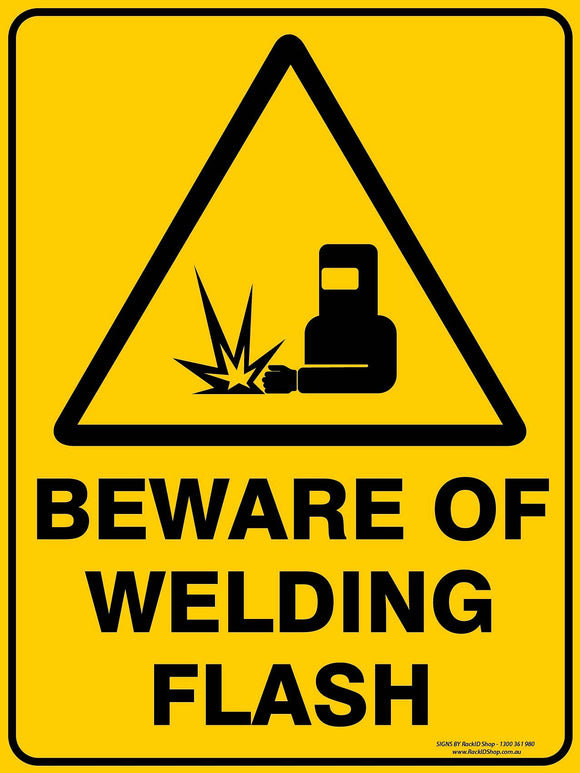 BEWARE OF WELDING-Signs-RackID Shop