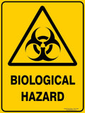 BIOLOGICAL HAZARD OUTDOORS - Signs - RackID Shop