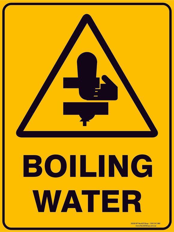 BOILING WATER-Signs-RackID Shop