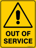 OUT OF SERVICE OUTDOORS-Signs-RackID Shop