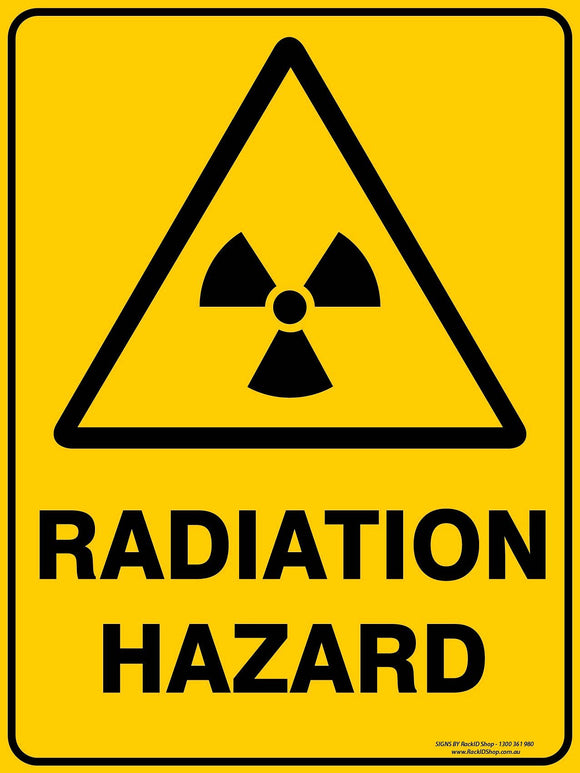 RADIATION HAZARD-Signs-RackID Shop