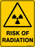 RISK OF RADIATION-Signs-RackID Shop