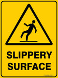 SLIPPERY SURFACE-Signs-RackID Shop