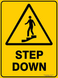 STEP DOWN OUTDOORS-Signs-RackID Shop