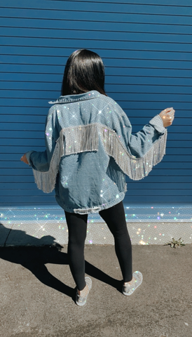 Dolly Denim Jacket - LE EL New York