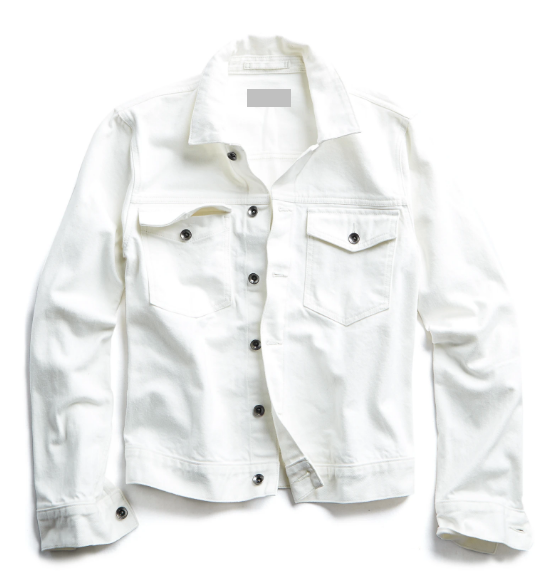 Personalized White Denim Jacket - LE EL New York