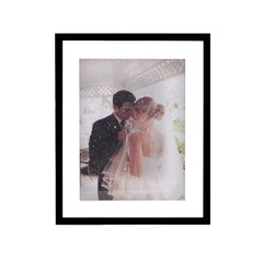11x14 Diamond Dusted Photo - Matted Frame - LE EL New York