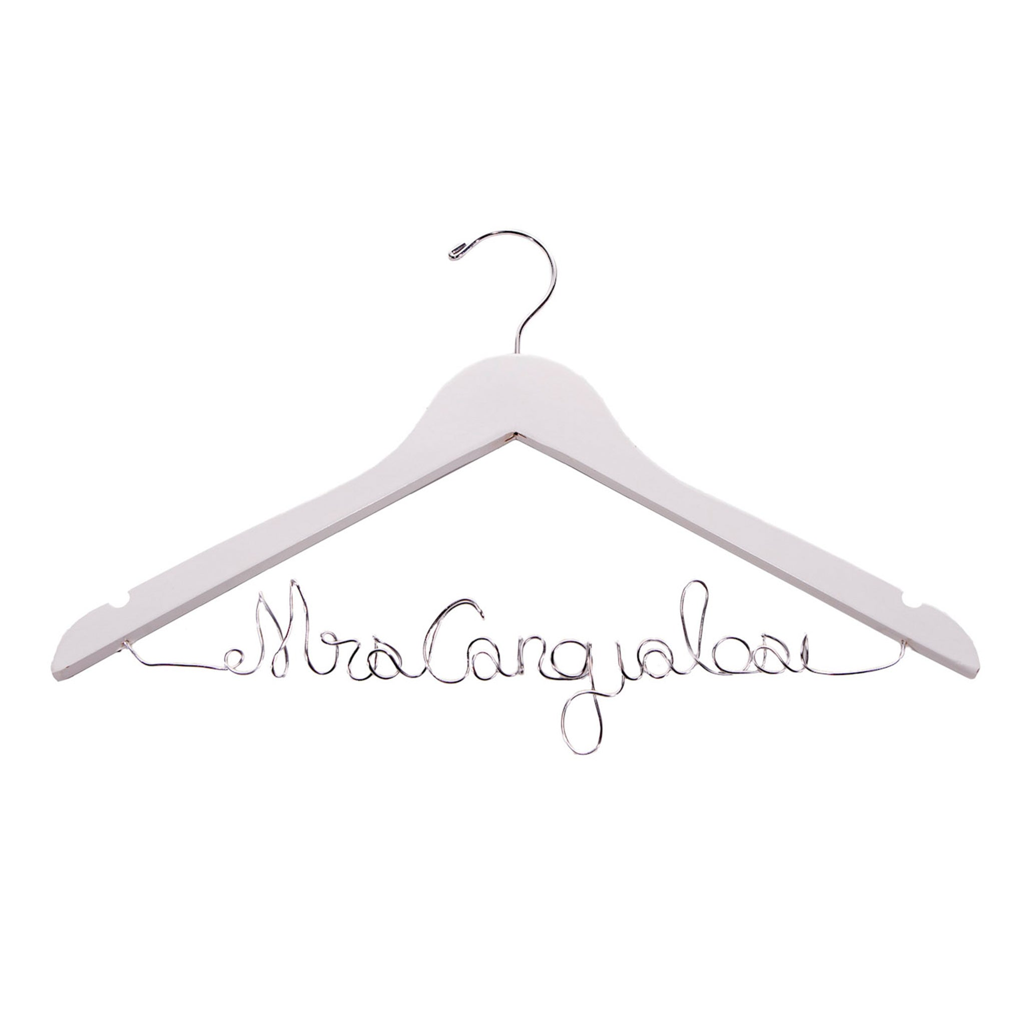 Personalized Wire Hanger - LE EL New York