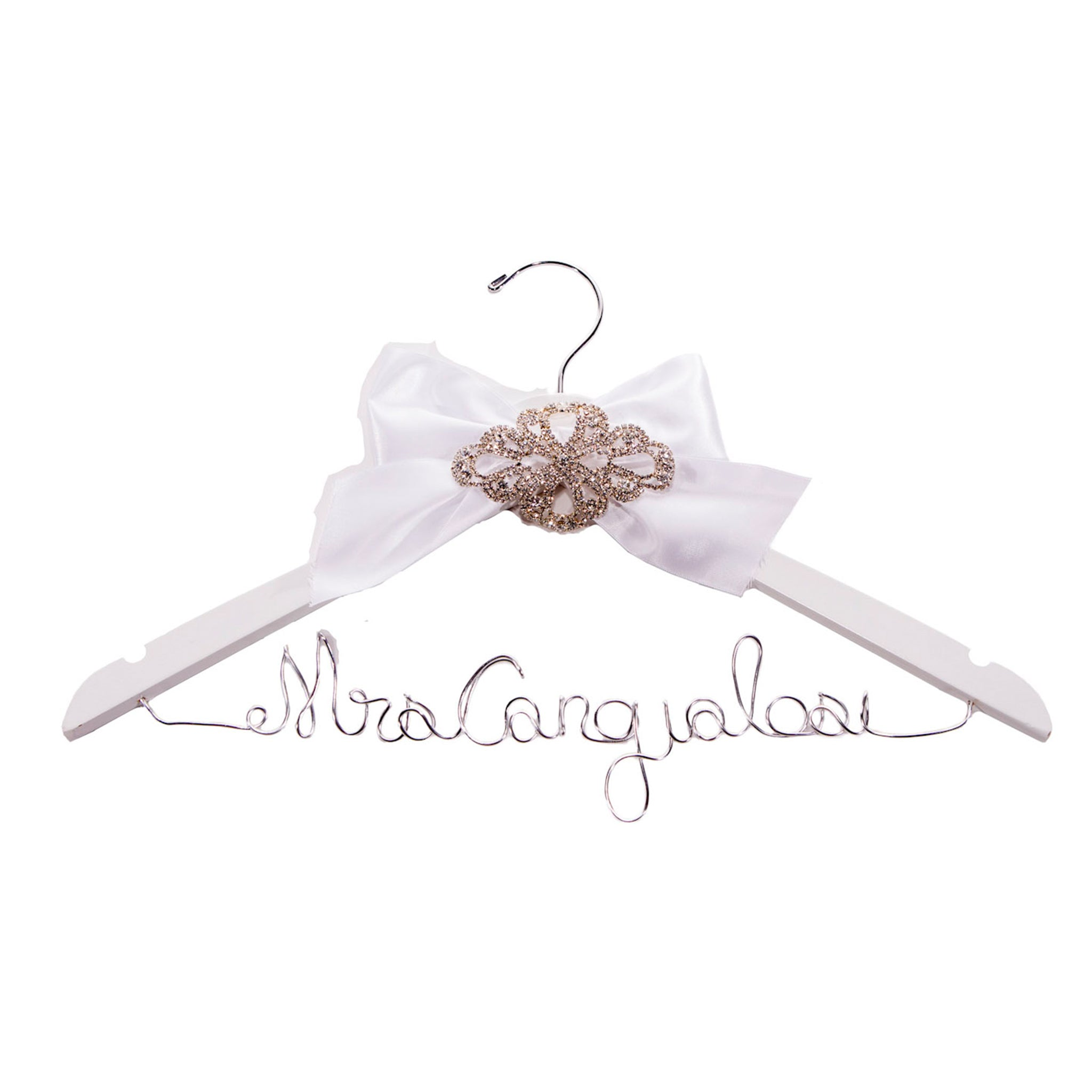 Personalized Wire Hanger - TIFFANY GONZALEZ BRIDAL REGISTRY - LE EL New York
