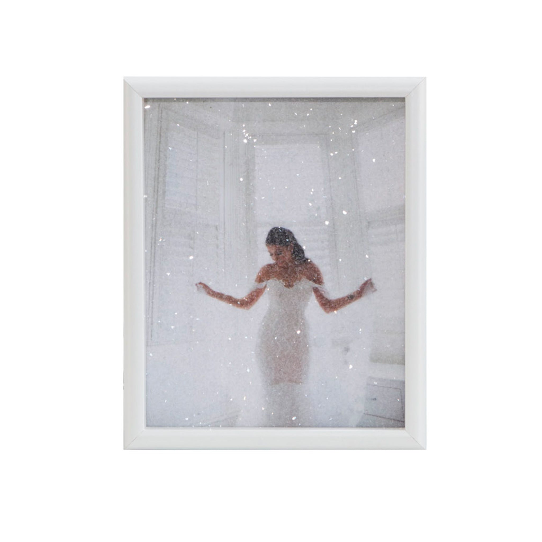 8x10 Diamond Dusted Photo