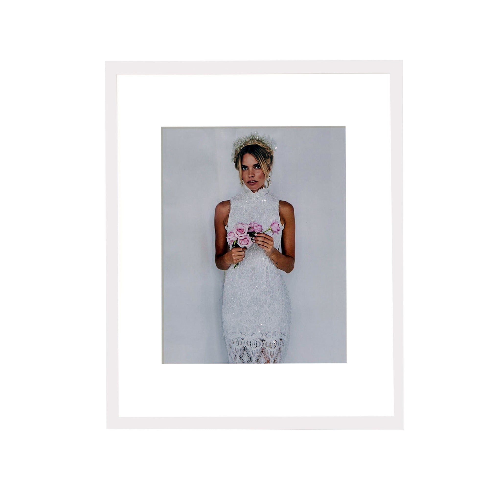 11x14 Diamond Dusted Photo - Matted Frame – Elle New York
