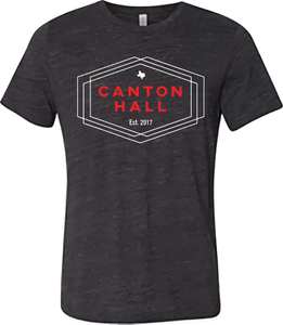 Canton Hall Heather Grey Logo T-shirt