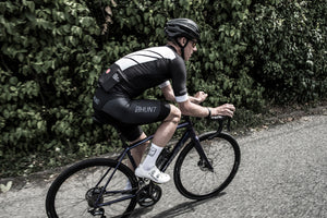 Full Zipper /& 3 Rear Pockets by Squadra Cycling Jersey With Long sleeves