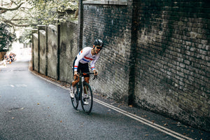 Hunt Hill Climb SL WheelsetDan Evans racing at Urban Hill Climb up London's Swain's Lane