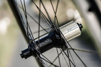 <h1>Spokes</h1><i>28 front and 32 at the rear, vastly reduces the fatigue on each spoke, and each spoke hole at the hub and rim, as the rider load is spread over many more spokes. We chose the top-of-the-range Pillar Spoke Re-enforcement PSR XTRA models. These butted blade aero spokes are lighter but also provide a greater degree of elasticity to maintain tensions longer and add fatigue resistance. PSR spokes feature the 2.2 width at the head providing more material in this high stress area.</i>