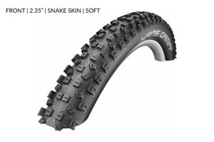 Schwalbe Hans Dampf Tubeless Tyres