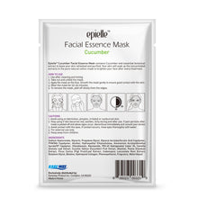 Load image into Gallery viewer, epielle Cucumber Facial Essence Mask, 1ct