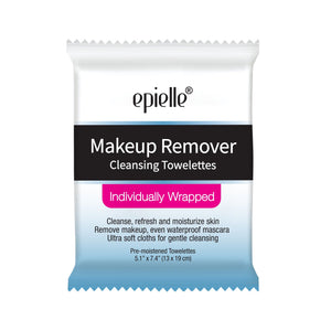 epielle Makeup Remover Cleansing Towelettes (compare to Neutrogena), 15 ct