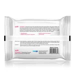 epielle Vitamin C Make-up Removing Cleansing Tissues, 30ct