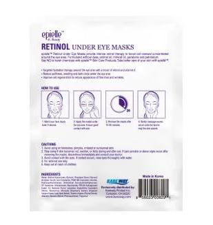 epielle Retinol Under Eye Mask, 2ct