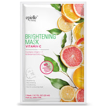 Load image into Gallery viewer, epielle Vitamin C Brightening Facial Mask, 3ct