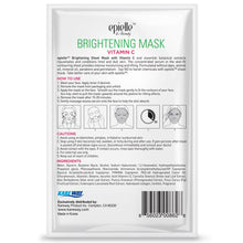 Load image into Gallery viewer, epielle Vitamin C Brightening Mask, 1ct