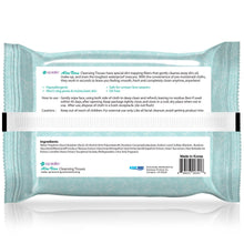 Load image into Gallery viewer, epielle Aloe Vera Facial Cleansing Tissues, 30ct