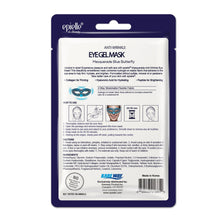 Load image into Gallery viewer, epielle Blue Butterfly Masquerade Eye Gel Mask, 1ct
