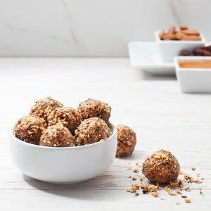 Honey Almond Energy Balls