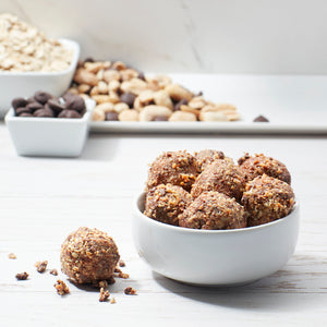 Dark Chocolate Peanut Energy Balls