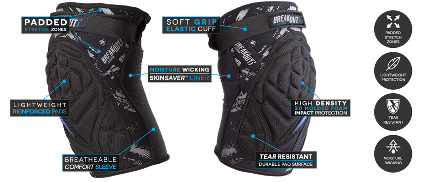 Breakout Knee Pad - Feature Call-Out