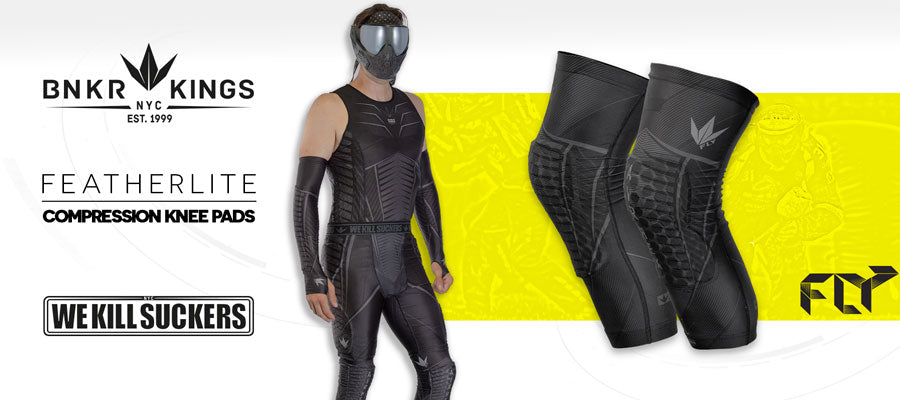 FLY Compression KneePads - Banner