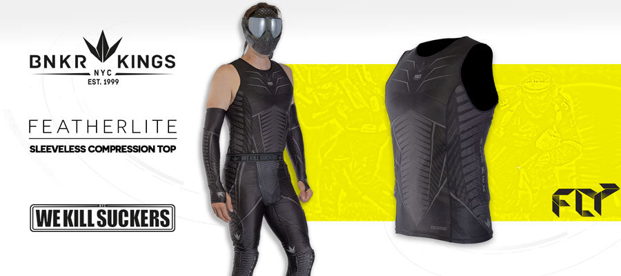 FLY Sleeveless Compression Top - Banner