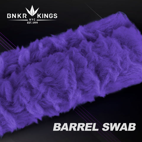 Bunkerkings Barrel Swab - Purple