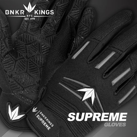Bunkerkings Supreme Gloves - Black