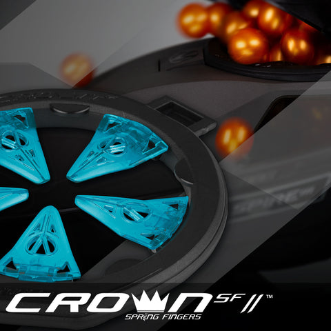 Virtue CrownSF II Speed Feed - Spire III - Cyan