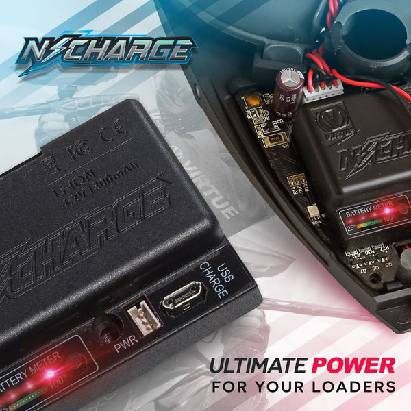 Virtue N-Charge Rechargeable Battery Pack - Spire, CTRL & Rotor