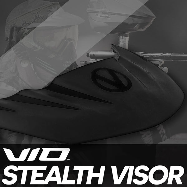 Virtue VIO Stealth Visor - Black/Black