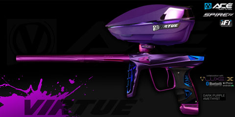 Virtue Ace + Spire IV - Dark Amethyst Purple - Marker + Loader