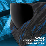 Virtue VIO Ascend Goggle - Graphic Cyan (4 Pack)