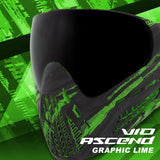 Virtue VIO Ascend Goggle - Graphic Lime (4 Pack)